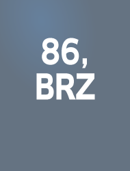 86, BRZ