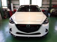 羽村市S様 弊社販売車 新車 DJ5FS デミオ クリーンディーゼル G'ZOXリアルガラスコート施工