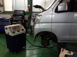 所沢市Y様 S321V ハイゼット 車検 ATF交換 トルコン太郎 WAKO'S セーフティースペック