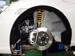 羽村市Rmc ZN6 86 OHLINS DFV HAL BTO車高調キット取付