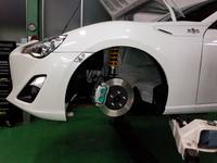 羽村市Rmc ZN6 86 PMU HC+ スポーツブレーキパッド交換