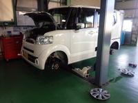 羽村市Y様 JF1 Nbox 新車6か月無料点検 オイル交換