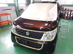 福生市S様 弊社販売車 新車 MH34S ワゴンR G'ZOXリアルガラスコート施工