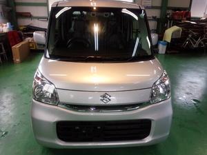 羽村市A様 新車 MK42S スペーシア RMC ガラスコーティング施工