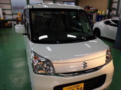 羽村市A様 新車 MK42S スペーシア RMCガラスコーティング施工