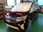 青梅市O様 新車 RP2 ステップW G'ZOXリアルガラスコート施工作業
