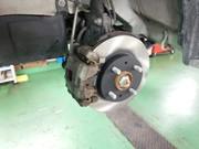 羽村市O様 LA100F ステラ フロントブレーキローター&ブレーキパッド交換作業