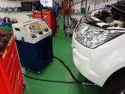青梅市T様 CV1W デリカD5 ATFフラッシング交換 新製品WAKO'S Premium spec 100%化学合成油 低粘度対応