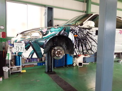 羽村市M様 EK9 シビック type R ドライブシャフトブーツ交換
