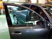 青梅市I様 弊社販売車 ベンツ W211 E320 CDI シルフィード断熱フィルム FGR-500 トウメイ断熱施工