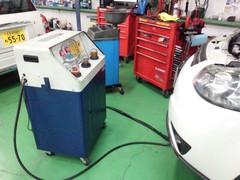奥多摩町W様 YB11S SX-4 ATFフラッシング交換 新製品WAKO'S Premium Spec ¥3024-/1L