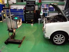 瑞穂町T様 L700S ミラジーノ 車検整備 オイル交換 ブレーキの分解・清掃・給油作業