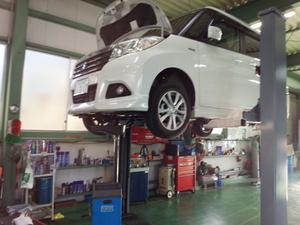 羽村市H様 MA36S ソリオ 新車無料6か月点検整備 エンジンオイル交換 WAKO'S