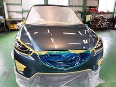 福生市K様 新車 KE2FW CX-5 クリーンディーゼル G'ZOXリアルガラスコート施工
