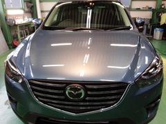 福生市K様 新車 KE2FW CX-5 クリーンディーゼル G'ZOXリアルガラスコート施工完了