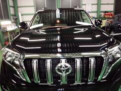 福生市D様 新車 TRJ150W ランクル プラド Rmcガラスコーティング施工
