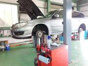 羽村市O様 BP5 レガシィW 法定12ヵ月点検整備 ブレーキの分解・清掃・給油作業