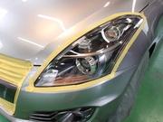 青梅市H様 ZC32S スイフトスポーツ WAKO'Sヘッドライトコーティング施工G'ZOX施工
