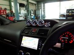 羽村市Rmc NEWデモカー!VAB WRX STI Defi ADVANCE A1 水温・油音・油圧メーター取付