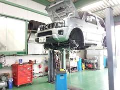 日高市K様 JB43W ジムニーシエラ ランドベンチャー 新車無料6か月点検整備 オイル交換作業
