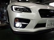 羽村市Rmc VAB WRX STI BELLOF シリウス ボールドレイ ネオ 6500K LED FOG 取付