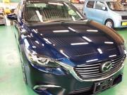 青梅市N様 新車 GJ2AP ATENZA G'ZOX リアルガラスコート施工 ボディガラスコーティング