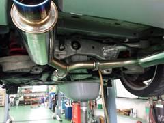 福生市M様 Z33 フェアレディーZ デフオイル交換作業 SPEED MASTER Pro Special Gear 80W140