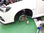 羽村市Rmc VAB WRX STI レーシングブレーキフルード交換 MOTUL RBF660 ¥13800-/1L税抜き