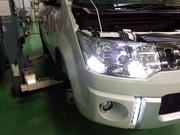 青梅市T様 CV1W デリカD5 BELLOF sirius BOLDRAY MILD 6500K コーナリングランプ LED化