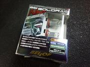 青梅市T様 CV1W デリカD5 BELLOF sirius BOLDRAY Neo 6500K LED FOG 取付