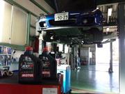 青梅市Y様 FD3S RX-7 オイル交換 MOTUL 300V COMPETITION 15W50 ¥3600/1L税抜き