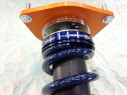 デモカーVAB WRX STI RmcオリジナルOHLINS DFV HYPERCO+PERCH仕様車高調コンプリートキット組み立て作業