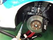 デモカーVAB WRX STI RmcオリジナルOHLINS DFV HYPERCO+PERCH仕様車高調コンプリートキット取付