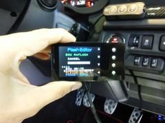 デモカーVAB WRX STI IMPREZA-NET特別仕様版 HKS Flash Editor PHASE1 インストール