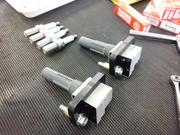 デモカーVAB WRX STI NGK RACING PLUG R7438-8 ¥4000-/1本 レーシングプラグ交換