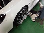 デモカーVAB WRX STI RmcオリジナルOHLINS DFV HYPERCO+PERCH仕様車高調 セッティング変更 アライメント調整
