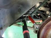 小平市W様 FD3S RX-7 スーパーナウ製 トーコンアッパー&ロアリンク交換作業