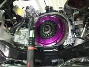 デモカーVAB WRX STI EXEDY カーボンD カーボンツイン プレートクラッチキット取付