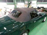 昭島市D様 弊社販売車 NA6CE ロードスター 幌交換作業 NB幌に交換しました