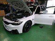 Rmc NEWデモカー BMW F80 M3 LCIモデル YUPITERU指定店モデル ドラレコ レーダー探知機取付作業