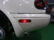 Rmcデモカー3代目NA8Cロードスター制作作業 サイドマーカー加工 サイドマーカー取付
