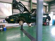 昭島市D様 弊社販売車 NA6CE ロードスター NA8Cブレーキ移植 ビックローター化 ブレーキチューン