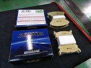 Rmcデモカー3代目NA8Cロードスター制作作業 NB8C RS用 ZONE 10F ブレーキパッド交換