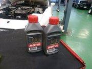 Rmcデモカー3代目NA8Cロードスター制作作業 MOTUL RBF660 ¥13800-/1L レーシングブレーキフルード交換