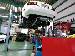 Rmcデモカー3代目NA8Cロードスター制作作業 デフオイル MOTUL GEAR COMPETITION 75W140 ¥5600-/1L
