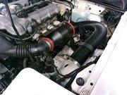 Rmcデモカー3代目NA8Cロードスター制作作業 BP-VEエンジンスワップ BMC DAI エアクリーナーキット取付