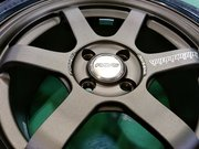 Rmcデモカー3代目NA8Cロードスター RAYS TE37 SONIC 7.0-15 +25 BR&BS POTENZA RE-71R 195/50R15