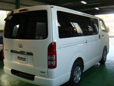 東京都青梅市A様 新車 ハイエース カーフィルム施工 ルミクールSD NS-015