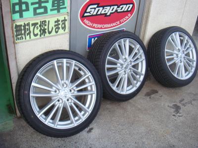 東京都羽村市S様 弊社販売車 新車 スイフトスポーツ G&#39ZOXホイールコーティング施工