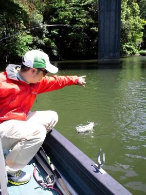 亀山湖 バス釣り 2013 海ほたる アクアライン